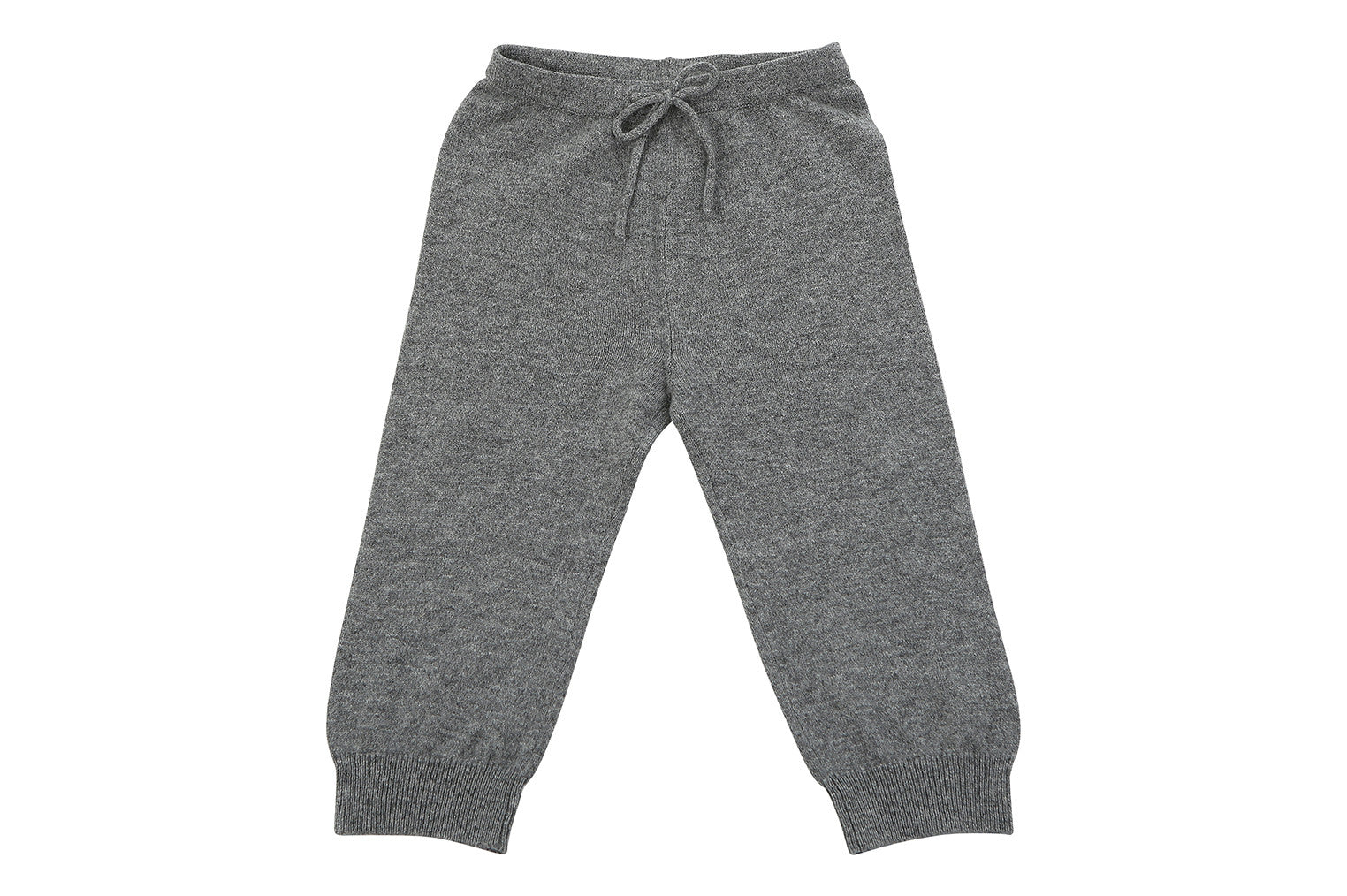 grey cashmere baby pants