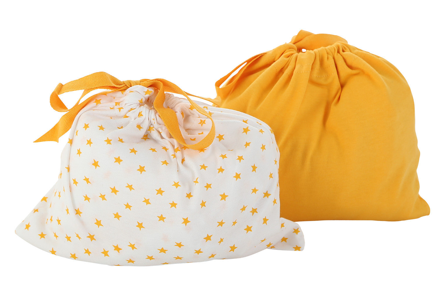 orange fitted crib sheet