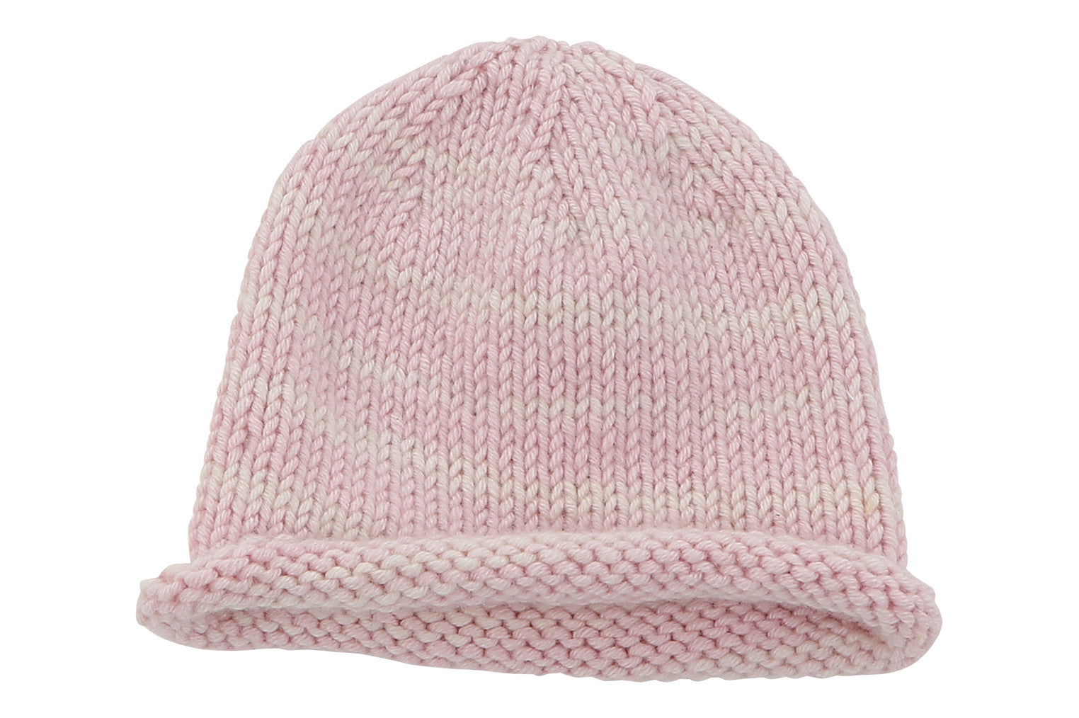 pink cashmere baby hat