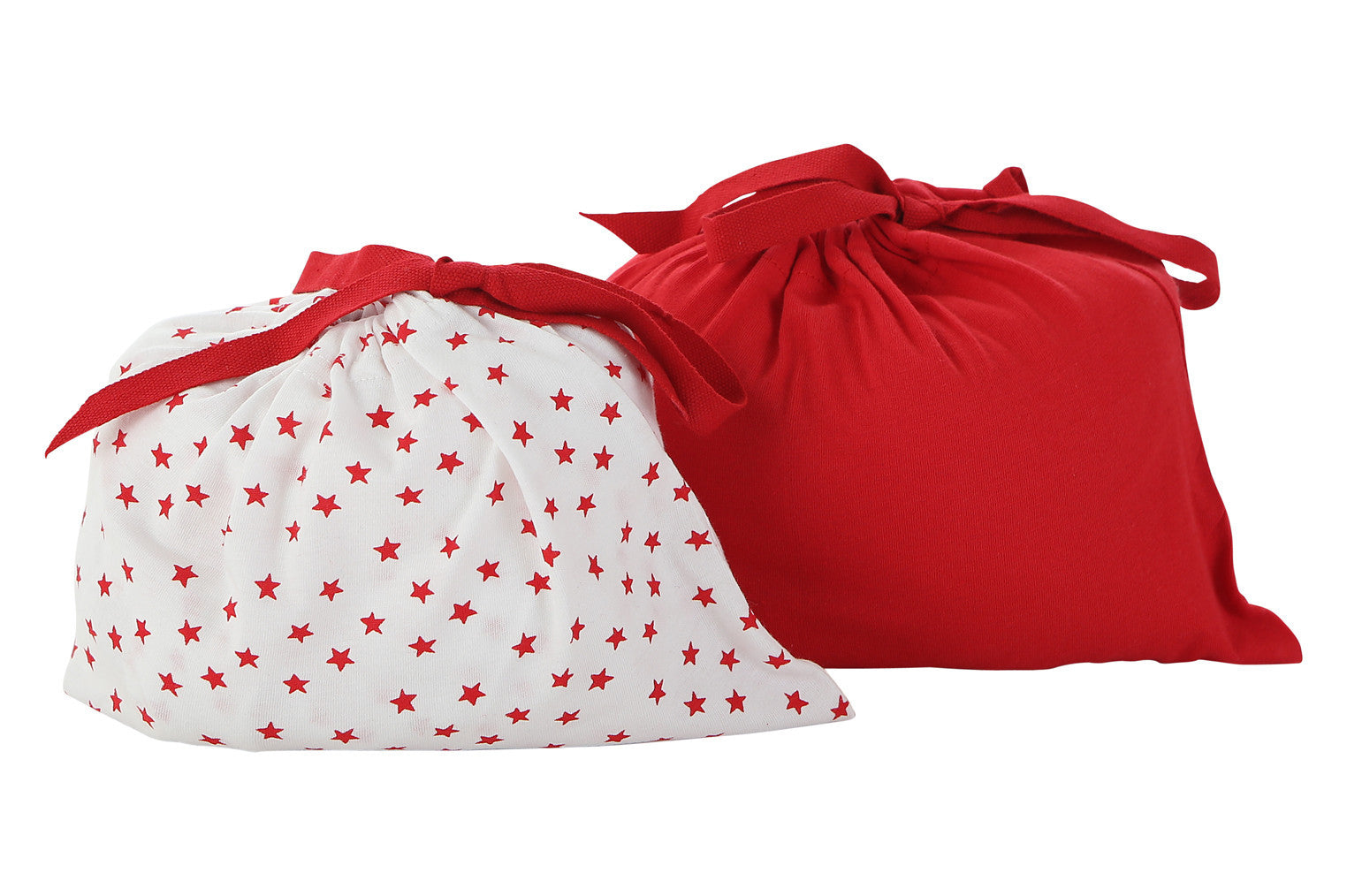 red fitted crib sheet set