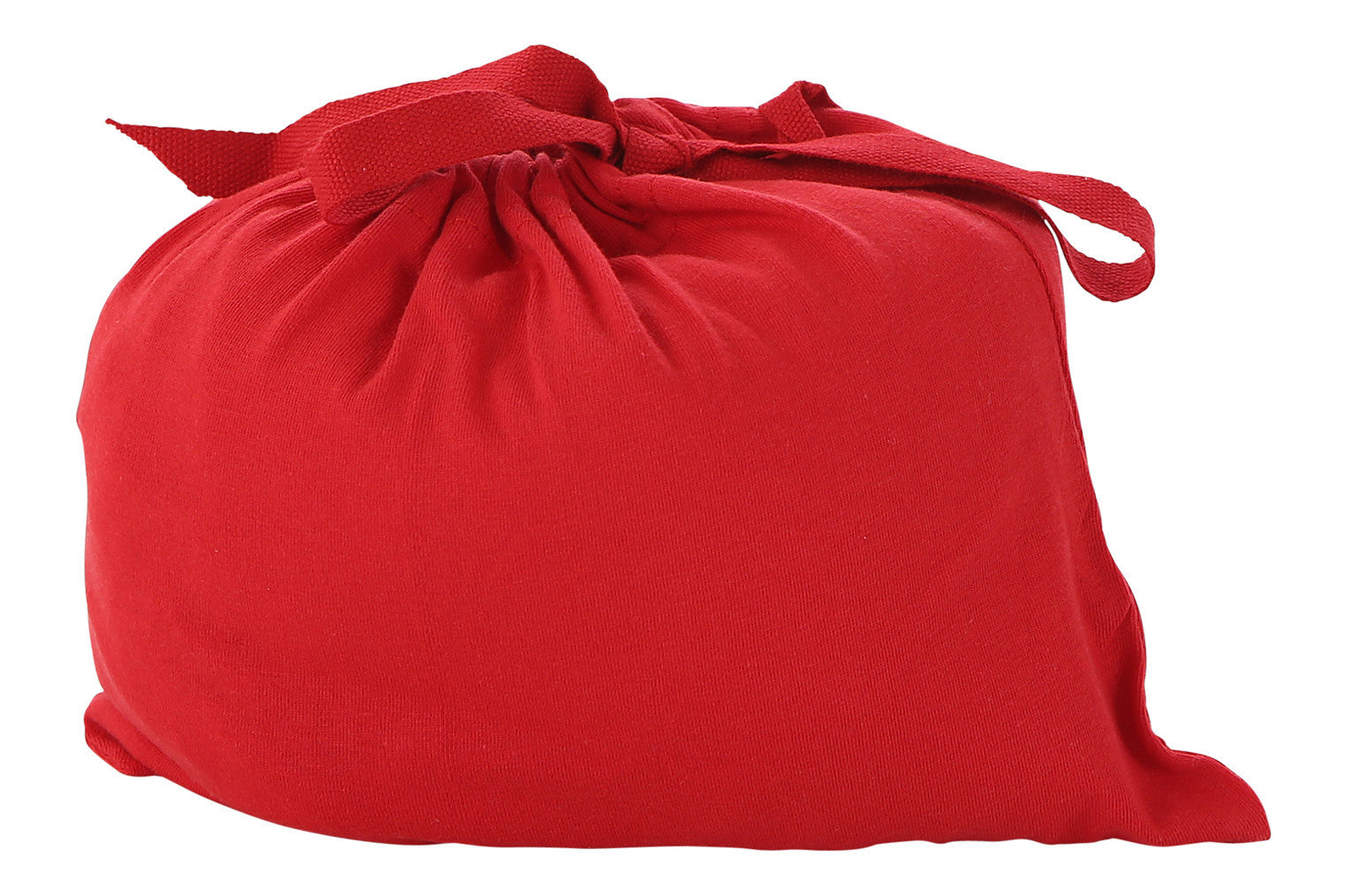 red fitted crib sheet
