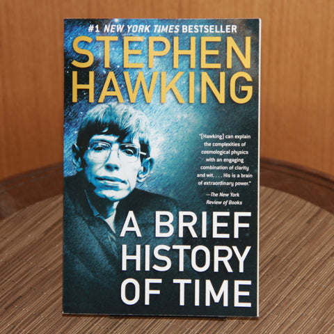 A Brief History Of Time by Stephen Hawking - Saturday with Mary Jane