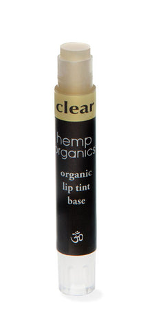 Hemp Oil Organic Lip Tint With Vitamin E, Clear - Saturday with Mary Jane