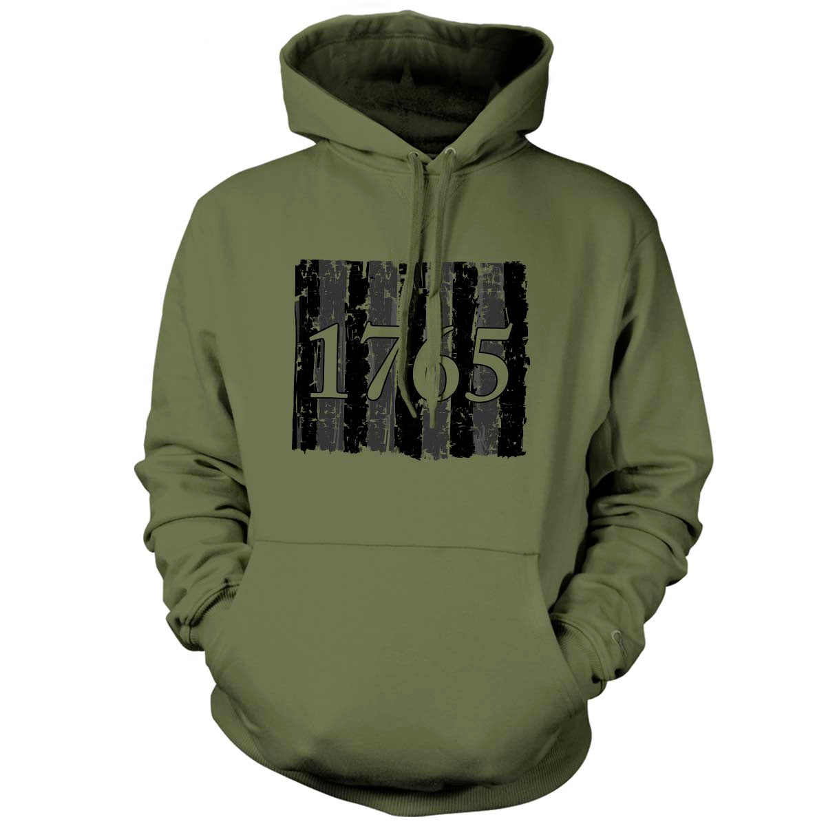 Sons of Liberty - 1765 - Hoodie - Military Green - T-Shirts - Pipe Hitters Union