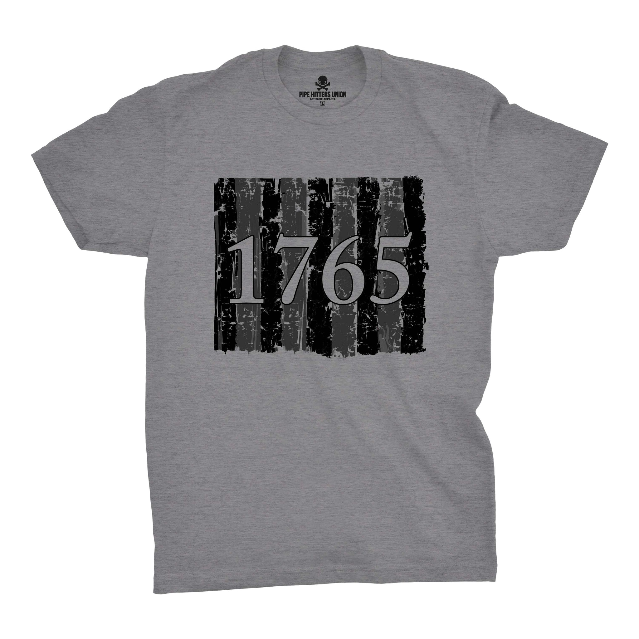 Sons of Liberty - 1765 - Grey - T-Shirts - Pipe Hitters Union