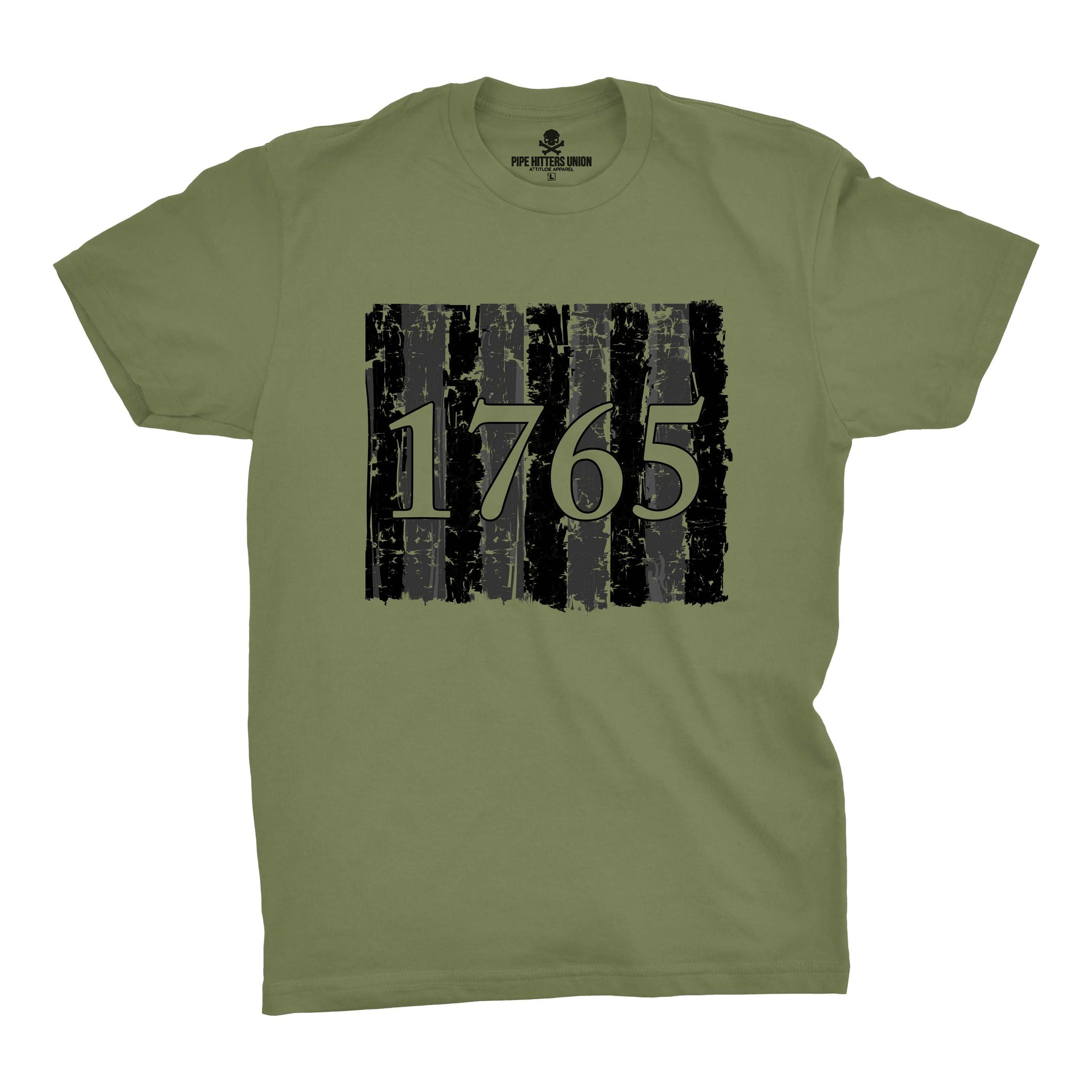Sons of Liberty - 1765 - Military Green - T-Shirts - Pipe Hitters Union