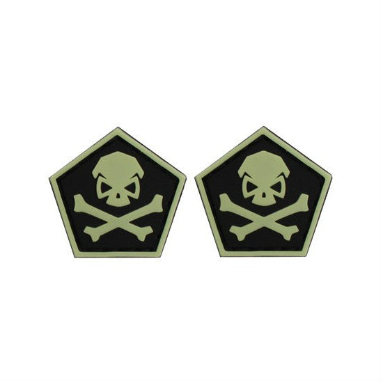 Pentagon Skull & Bones Ranger Eyes (Sold in Pairs)