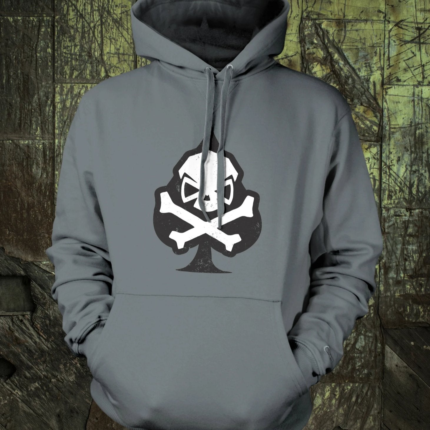 Spade Hoodie - Clearance - Pipe Hitters Union