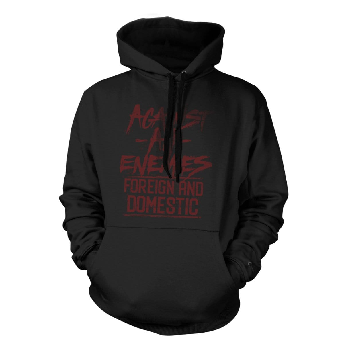 Against All Enemies Hoodie