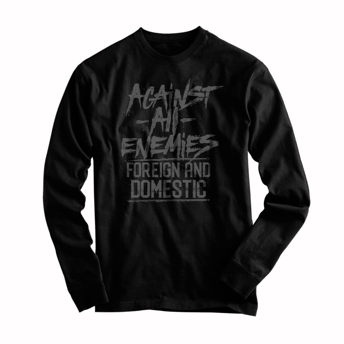 Against All Enemies - Long Sleeve