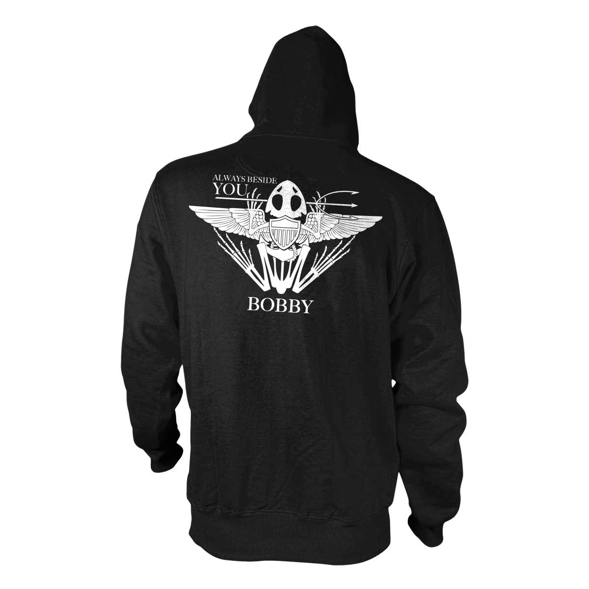 Robert 'Bobby' Needham - Memorial Hoodie - Black - Hoodies - Pipe Hitters Union
