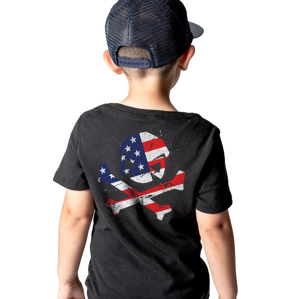 American Patriot - Youth - Black - T-Shirts - Pipe Hitters Union