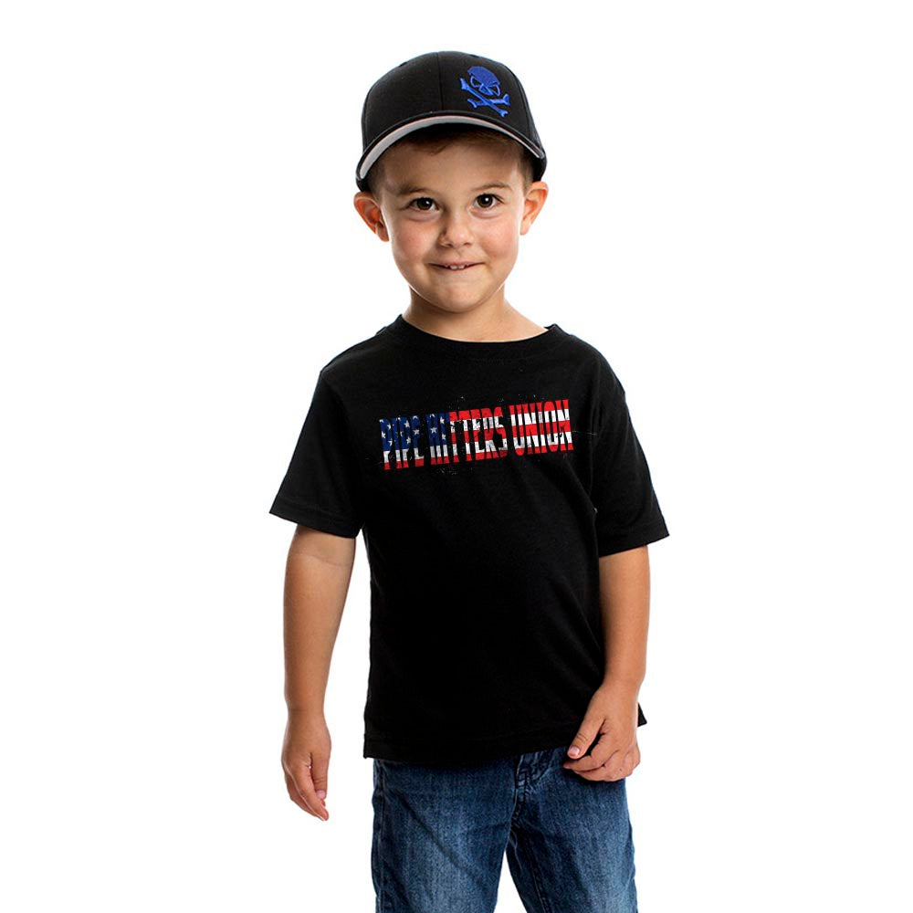 American Patriot - Youth -  - T-Shirts - Pipe Hitters Union