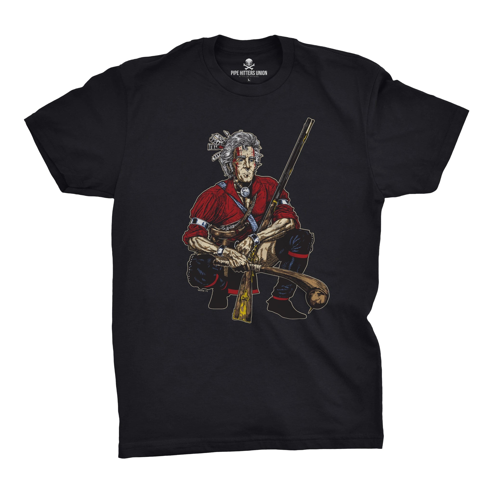 Original Pipe Hitter - Andrew Jackson - Black - T-Shirts - Pipe Hitters Union
