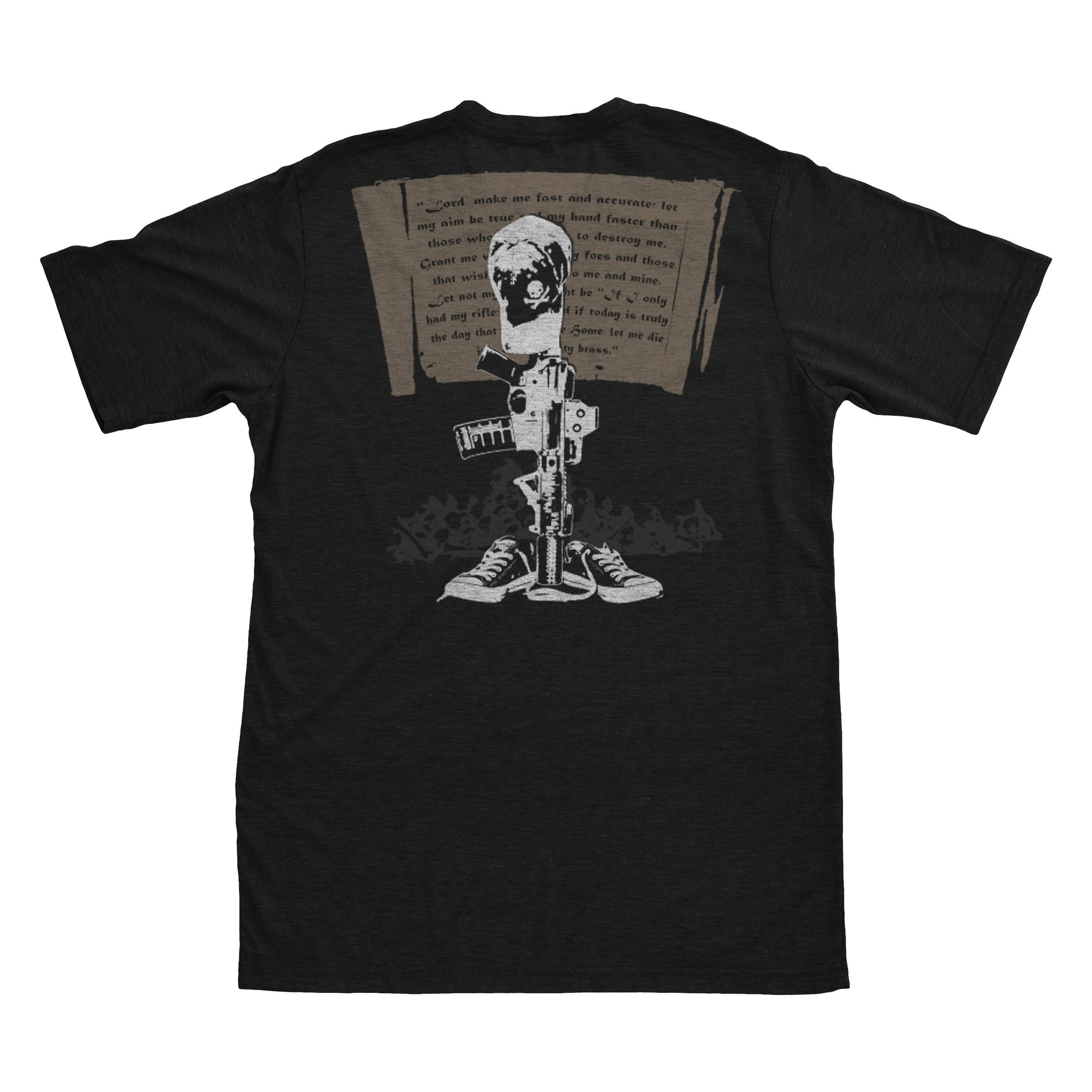 Gunfighter's Prayer - Black - T-Shirts - Pipe Hitters Union