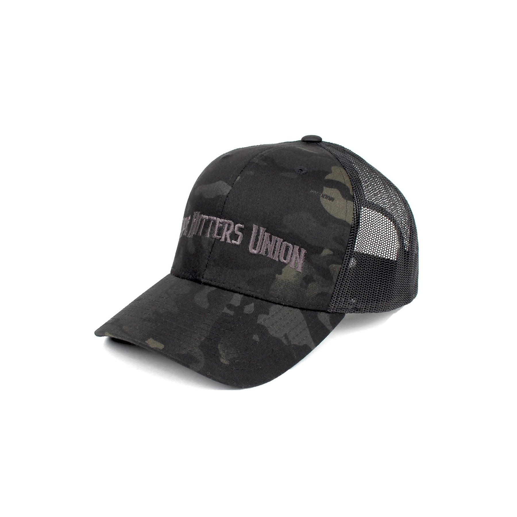 Pipe Hitters Union Trucker - BlackMultiCam/Black - Hats - Pipe Hitters Union