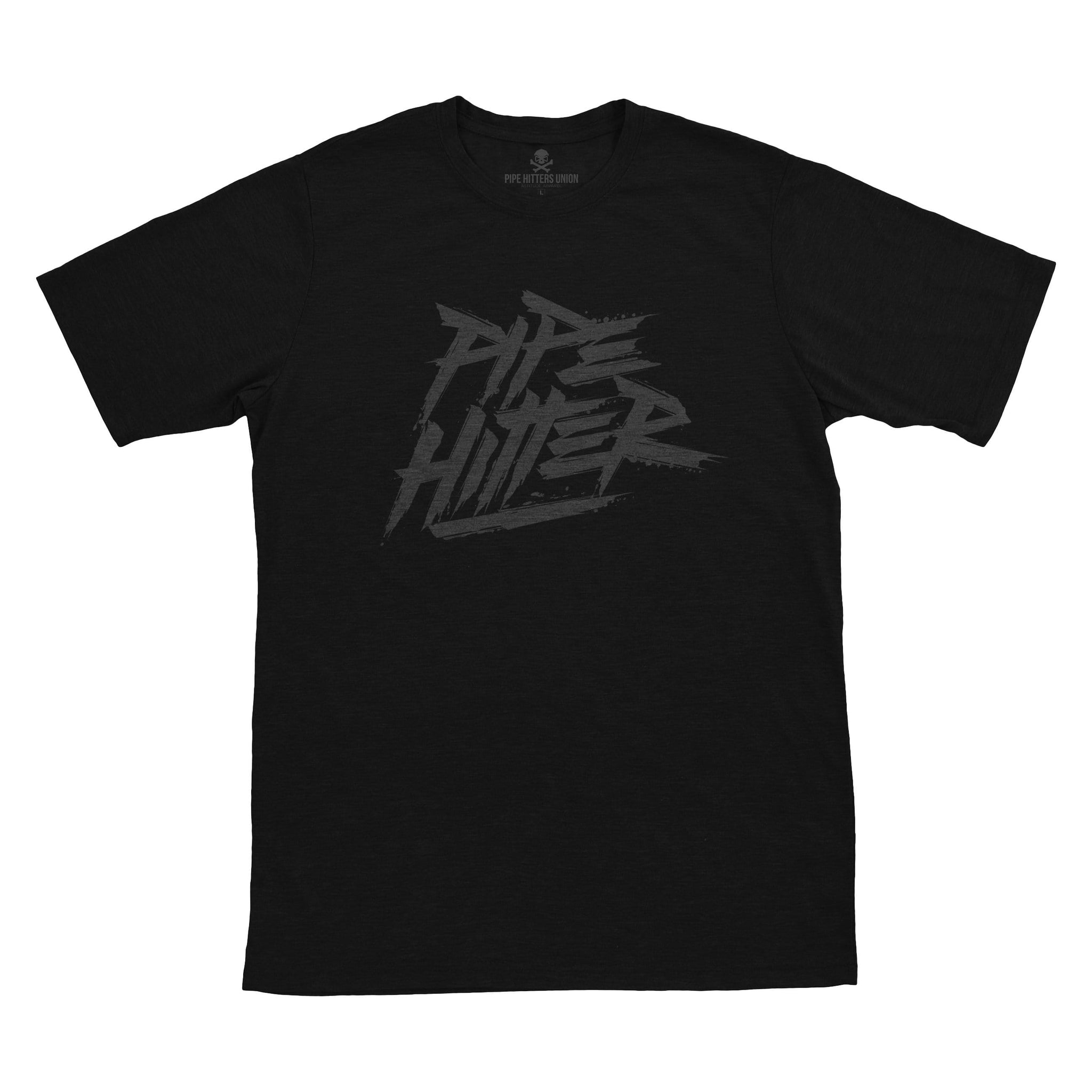 Pipe Hitter - Black/Grey - T-Shirts - Pipe Hitters Union