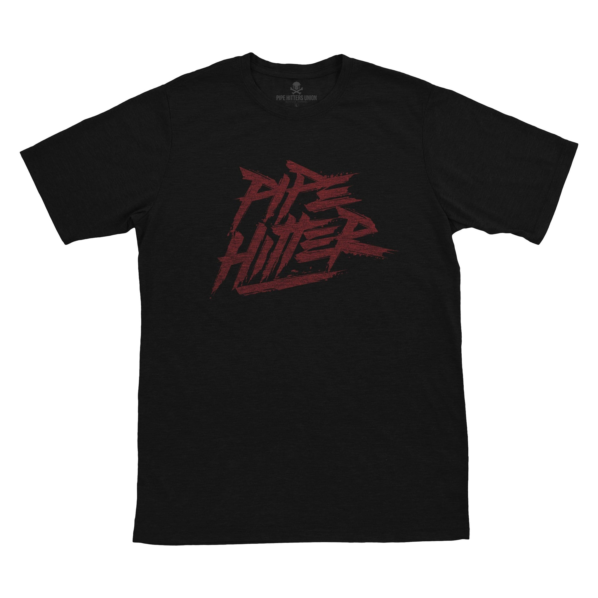 Pipe Hitter - Black/Red - T-Shirts - Pipe Hitters Union