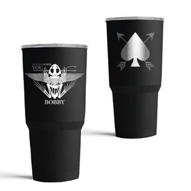 Robert 'Bobby' Needham - Memorial 20oz Tumbler - Black - Tumbler - Pipe Hitters Union