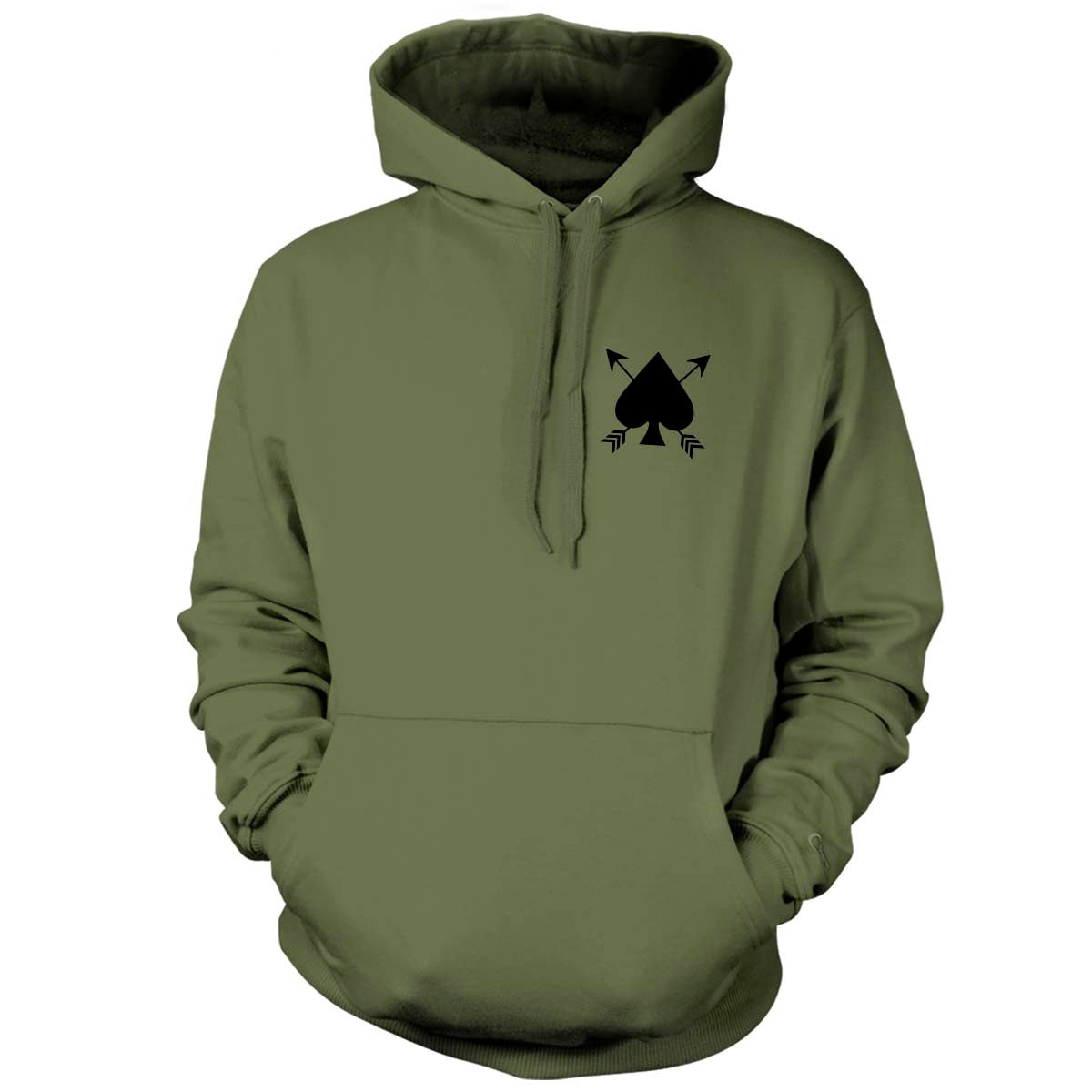 Robert 'Bobby' Needham - Memorial Hoodie - Military Green - Hoodies - Pipe Hitters Union