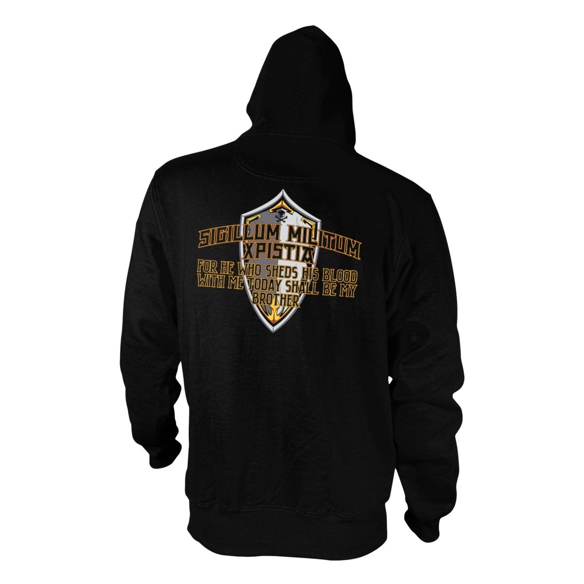 Brotherhood Hoodie - Black - Hoodies - Pipe Hitters Union