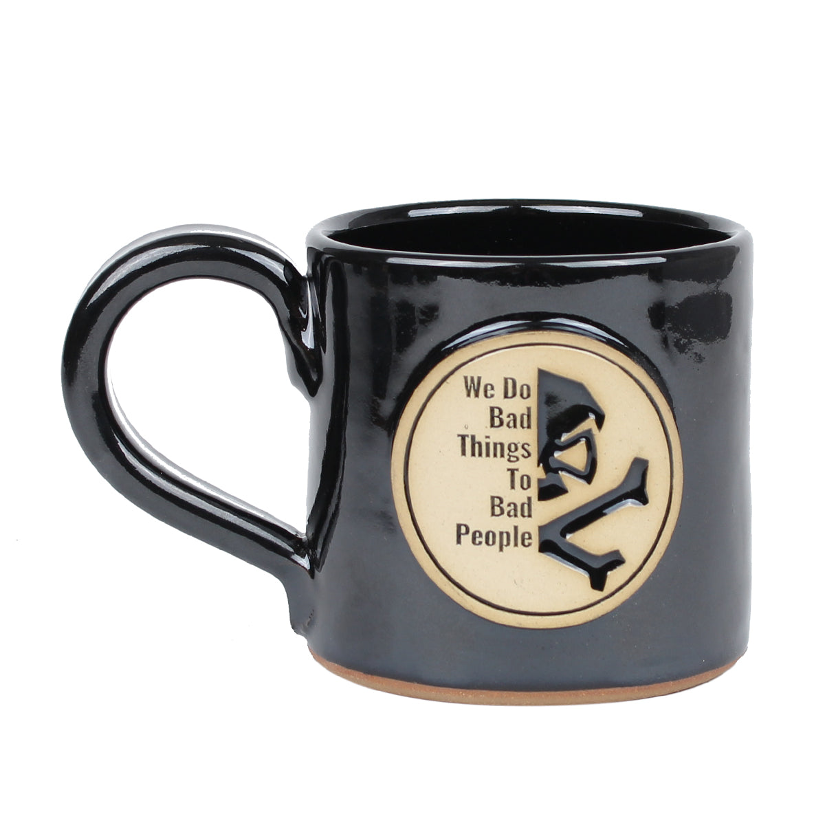 We Do Bad Things - 14oz Coffee Mug - Pipe Hitters Union