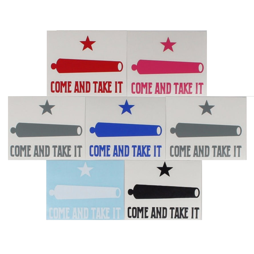 Come And Take It / Cannon - Decal -  - Decals - Pipe Hitters Union