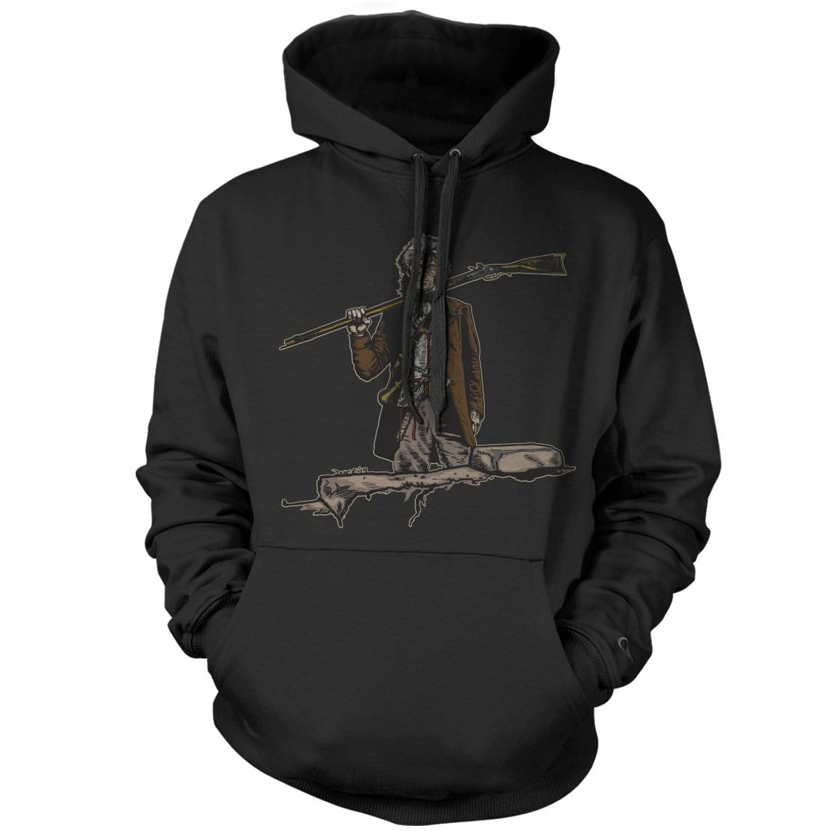 Original Pipe Hitter - Davy Hoodie - Black - Hoodies - Pipe Hitters Union