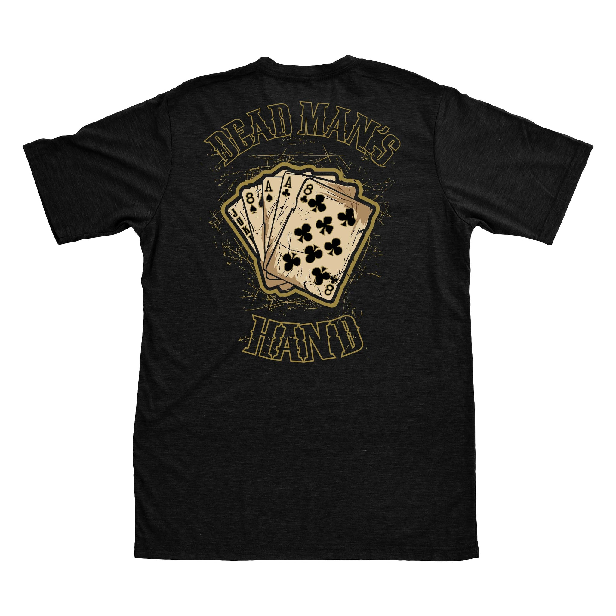 Dead Man's Hand - Black - T-Shirts - Pipe Hitters Union
