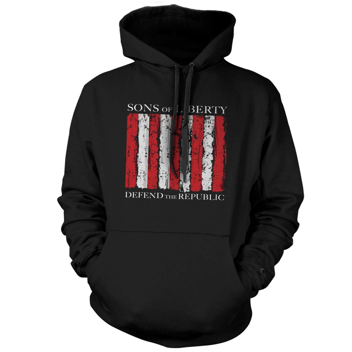 Sons of Liberty - Defend the Republic - Hoodie - Black - T-Shirts - Pipe Hitters Union