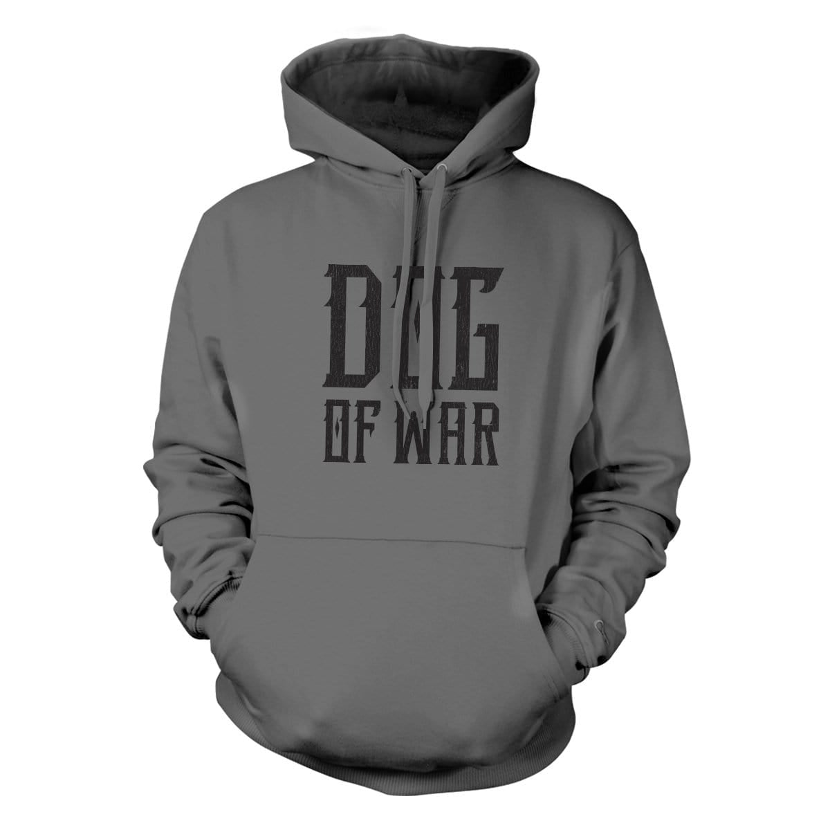 Dog of War Hoodie - Grey - Hoodies - Pipe Hitters Union