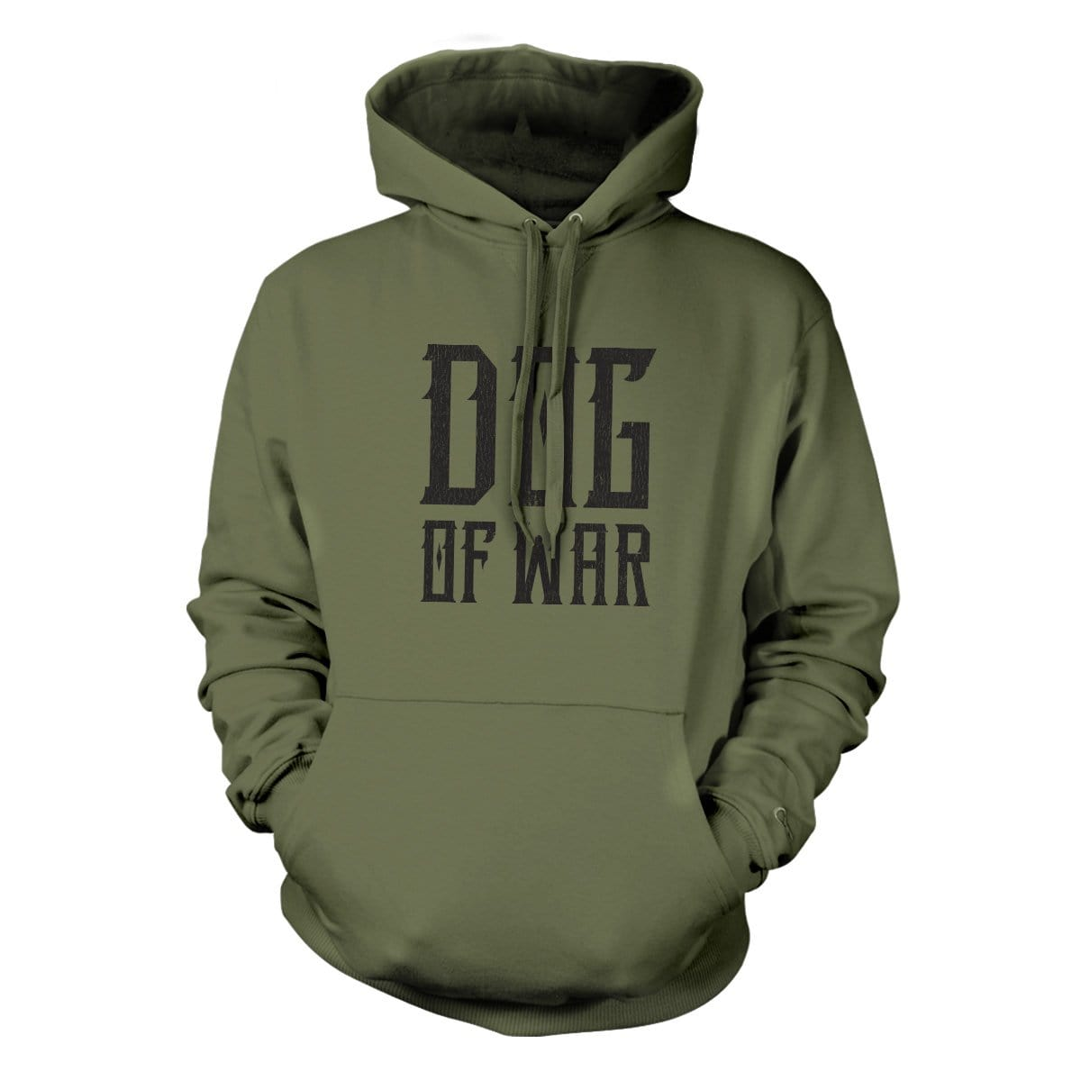 Dog of War Hoodie - Military Green - Hoodies - Pipe Hitters Union