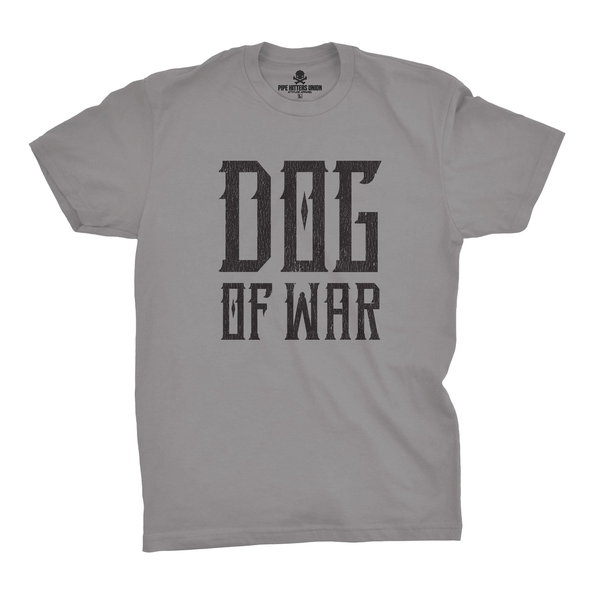 Dog of War - Grey - T-Shirts - Pipe Hitters Union