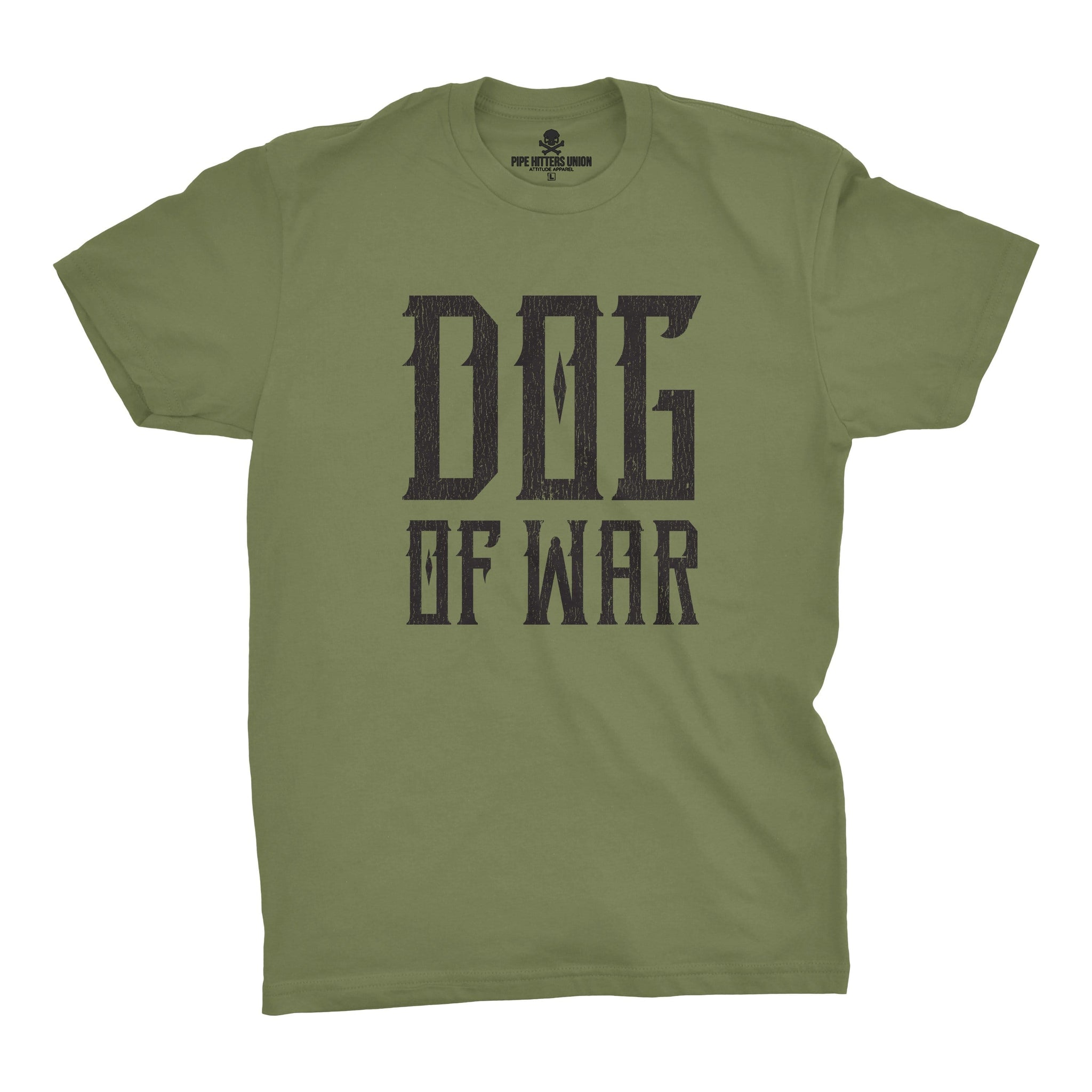 Dog of War - Military Green - T-Shirts - Pipe Hitters Union