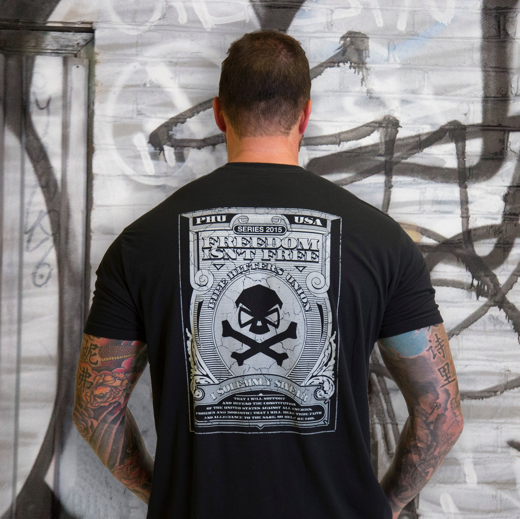 Freedom Isnt Free -  - T-Shirts - Pipe Hitters Union