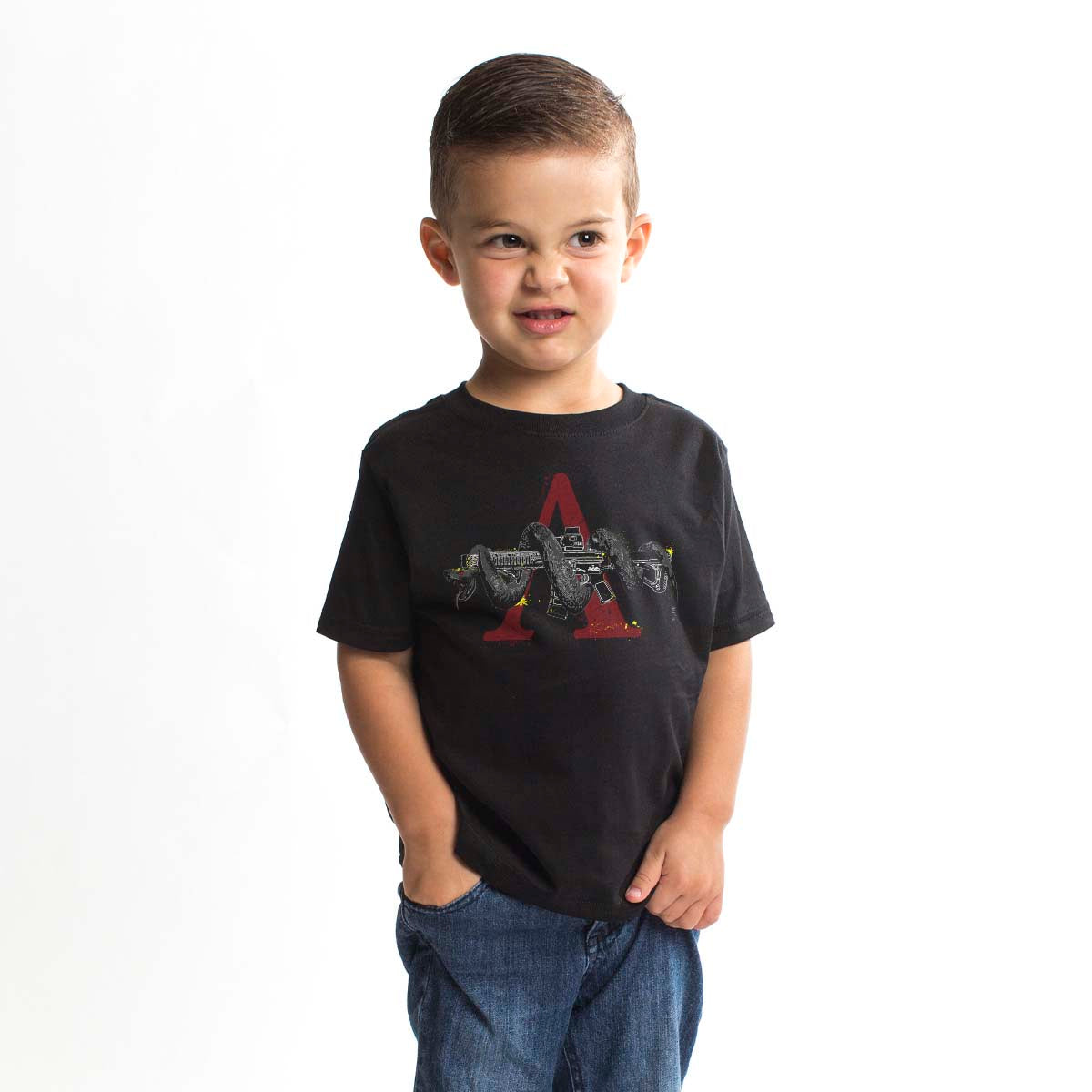 Fangs Out - Youth - Black - T-Shirts - Pipe Hitters Union