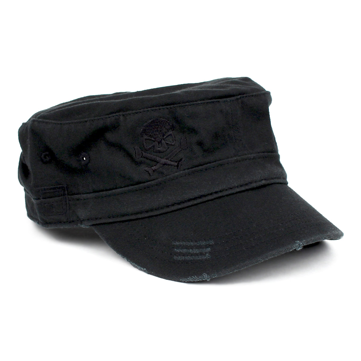 Cadet Cap - Black/Black - Hats - Pipe Hitters Union