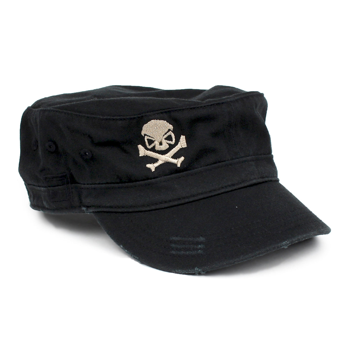 Cadet Cap - Black/Pewter - Hats - Pipe Hitters Union