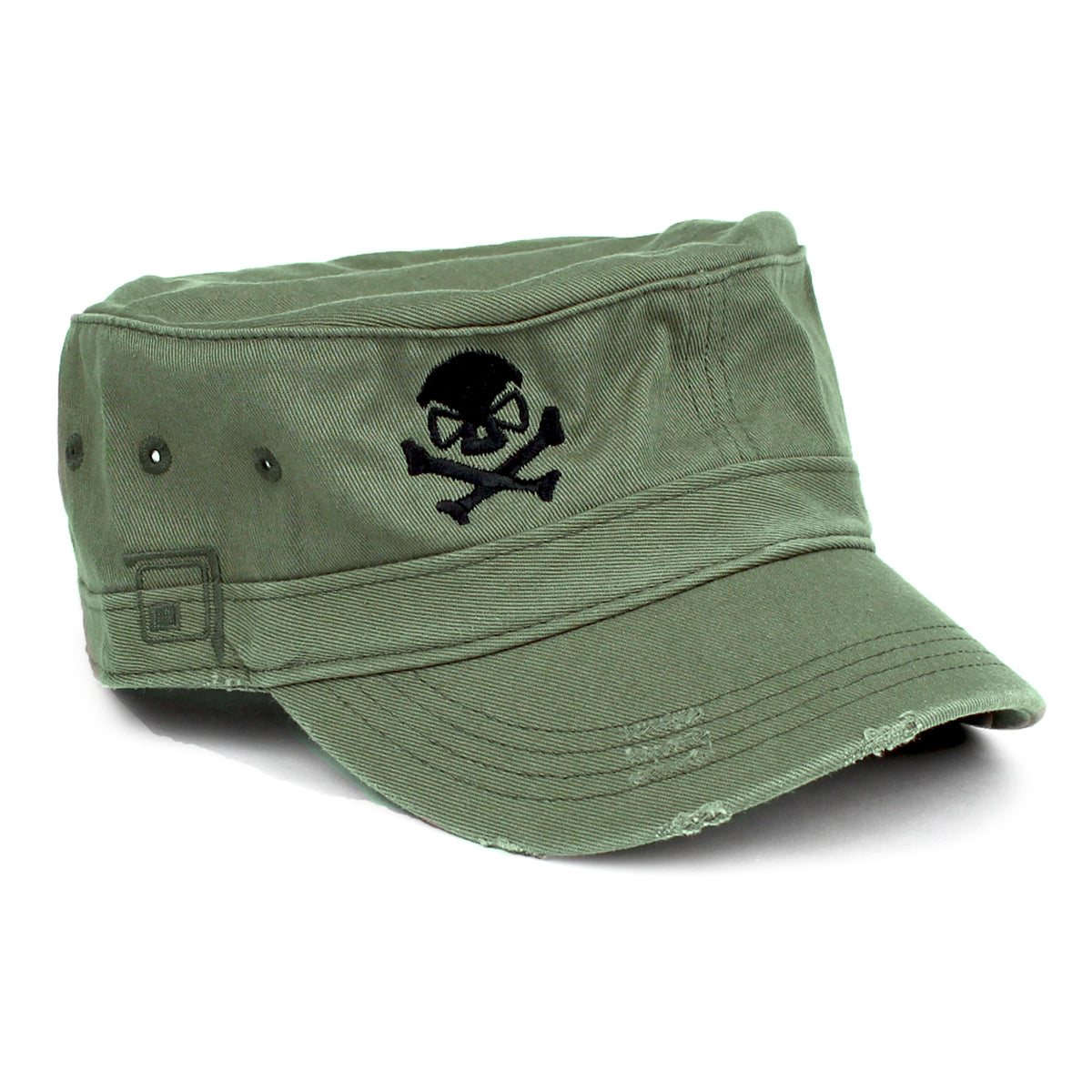 Cadet Cap - Olive/Black - Hats - Pipe Hitters Union