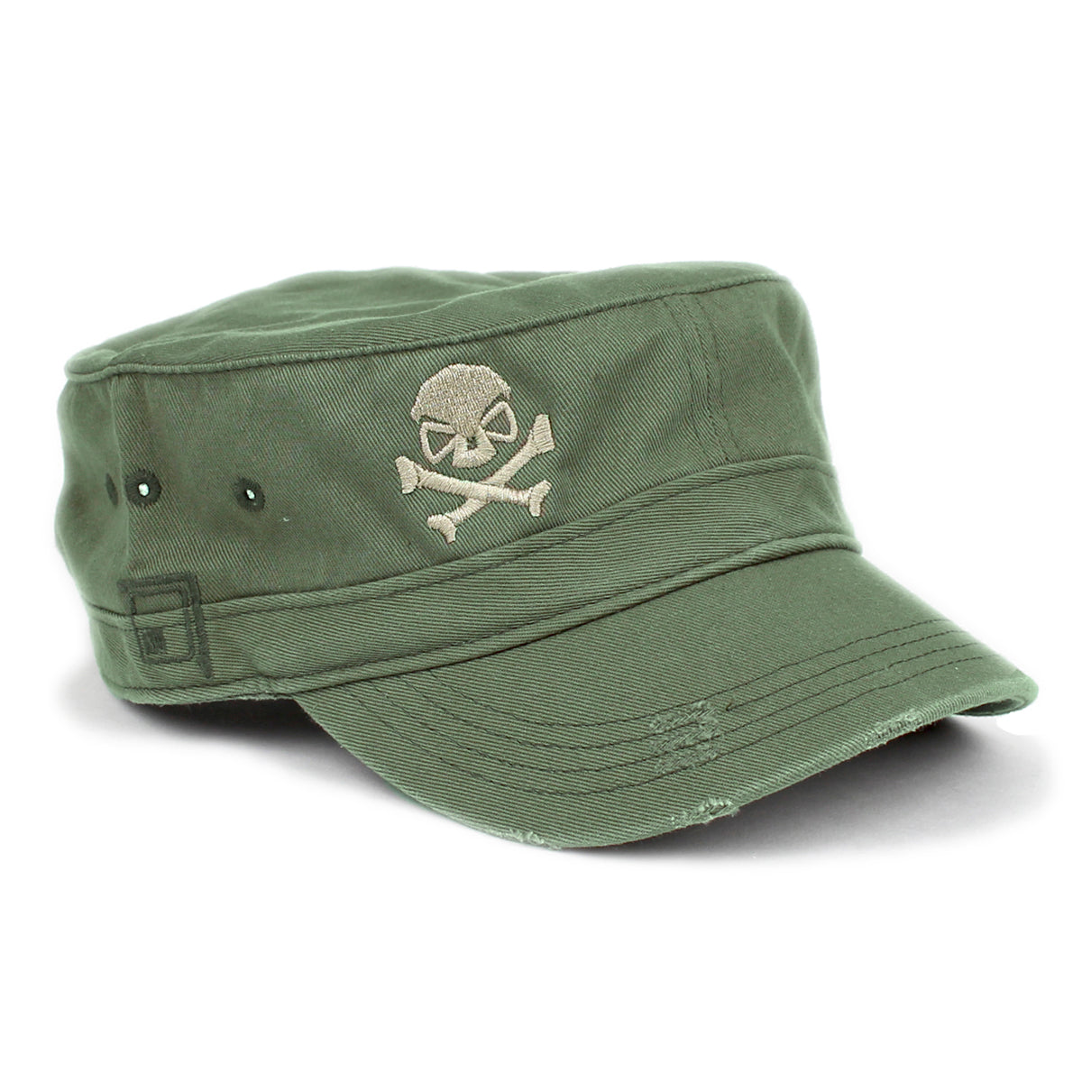 Cadet Cap - Olive/Pewter - Hats - Pipe Hitters Union