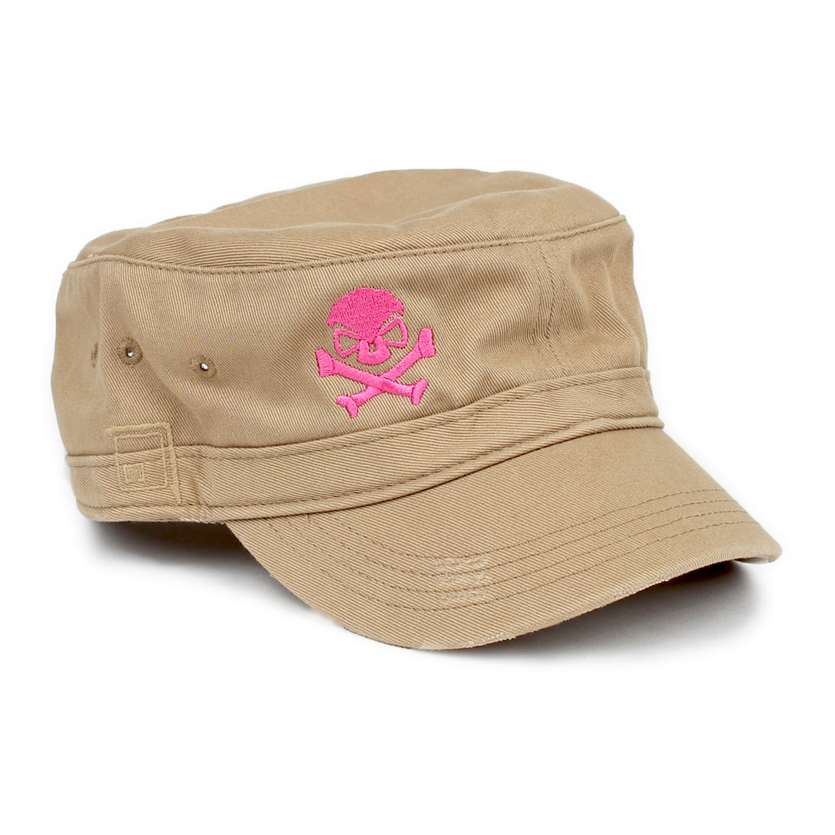 Cadet Cap - Khaki/Pink - Hats - Pipe Hitters Union