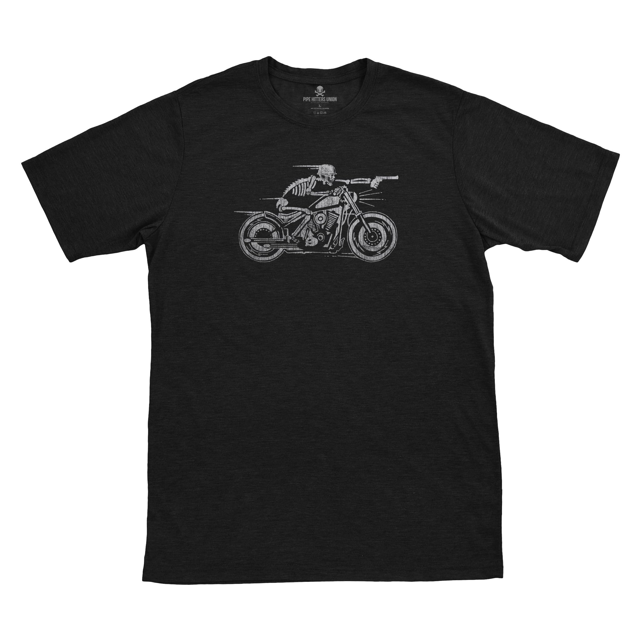 The Nomad - Black - T-Shirts - Pipe Hitters Union