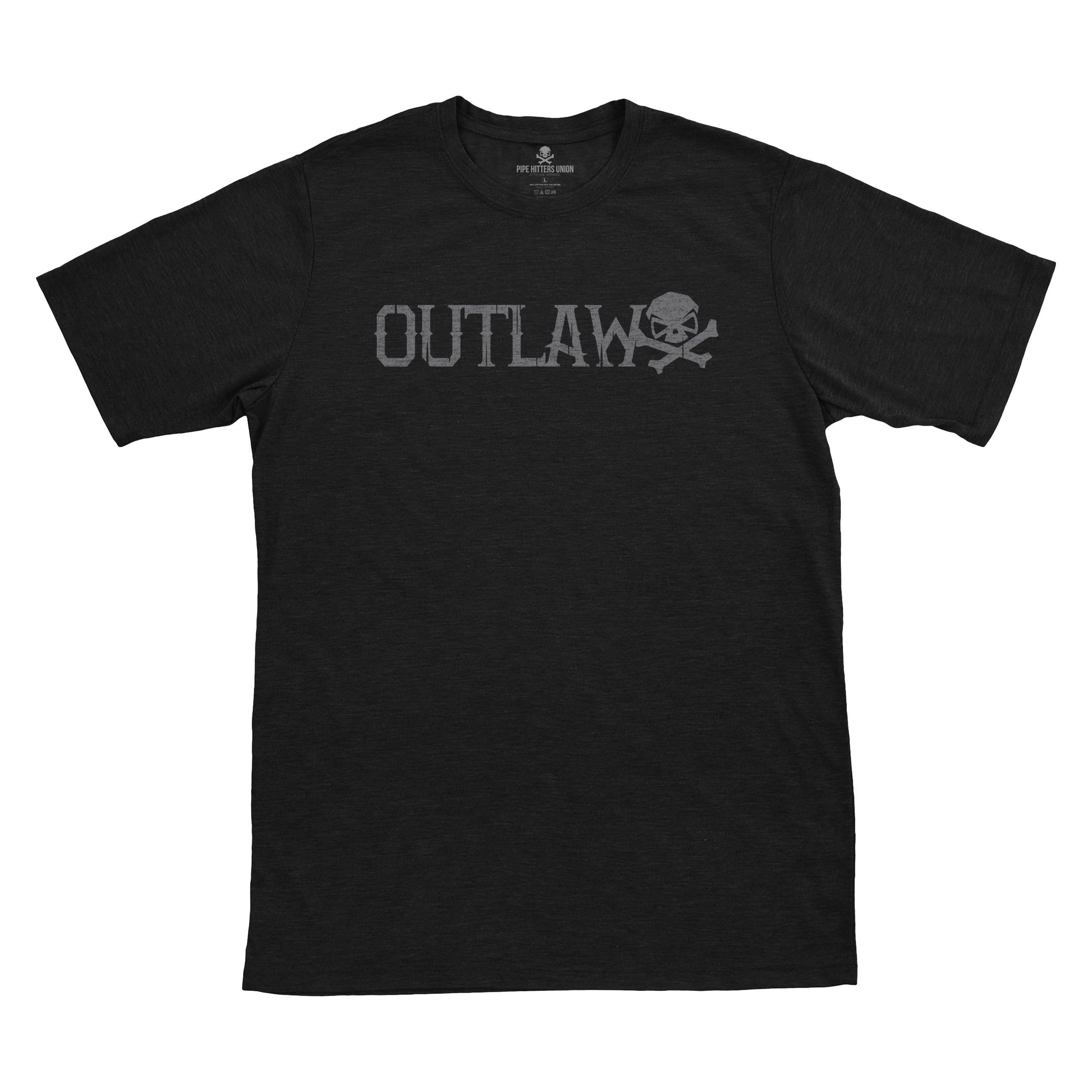 Outlaw - Black - T-Shirts - Pipe Hitters Union