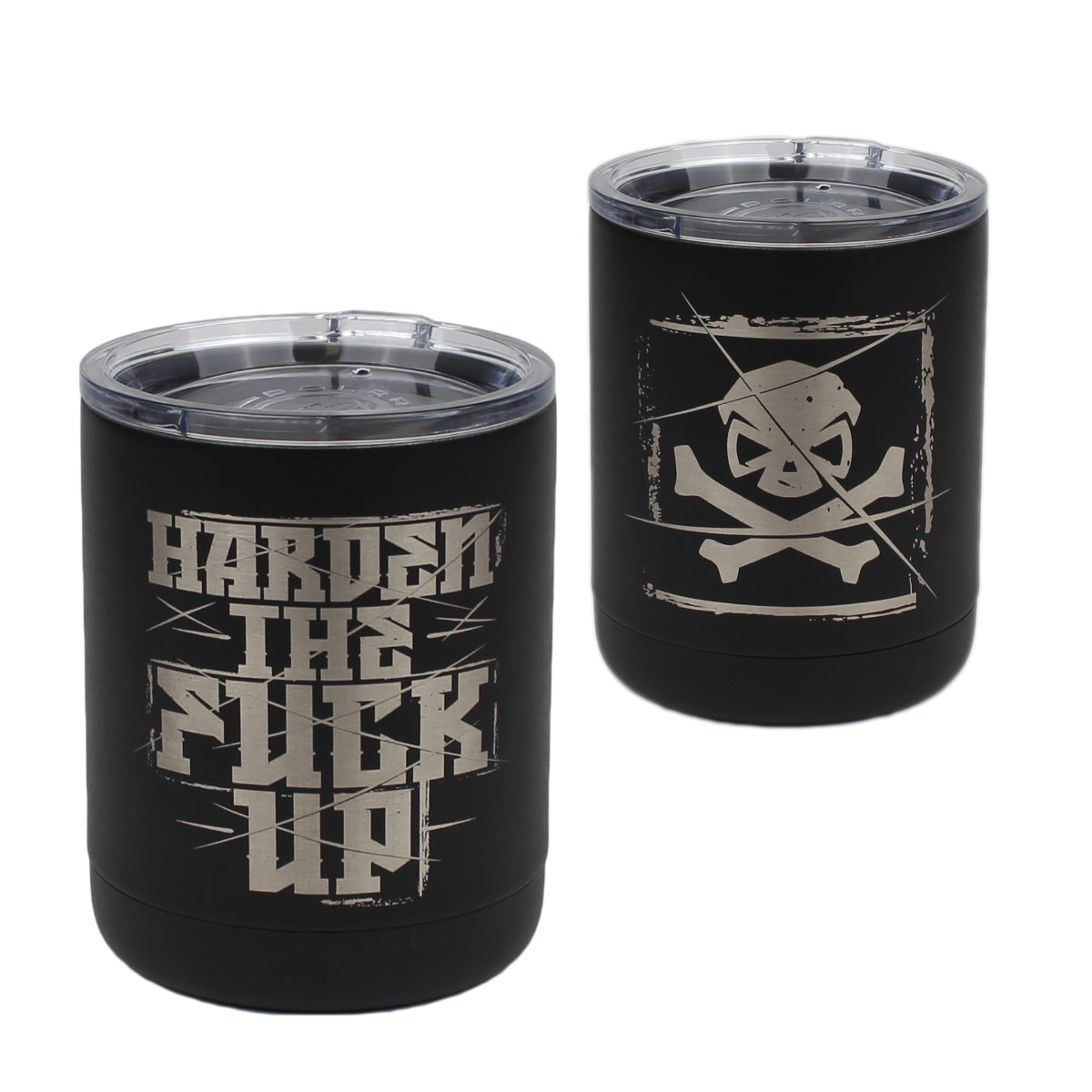 Harden The Fuck Up - 10oz Lowball - Pipe Hitters Union