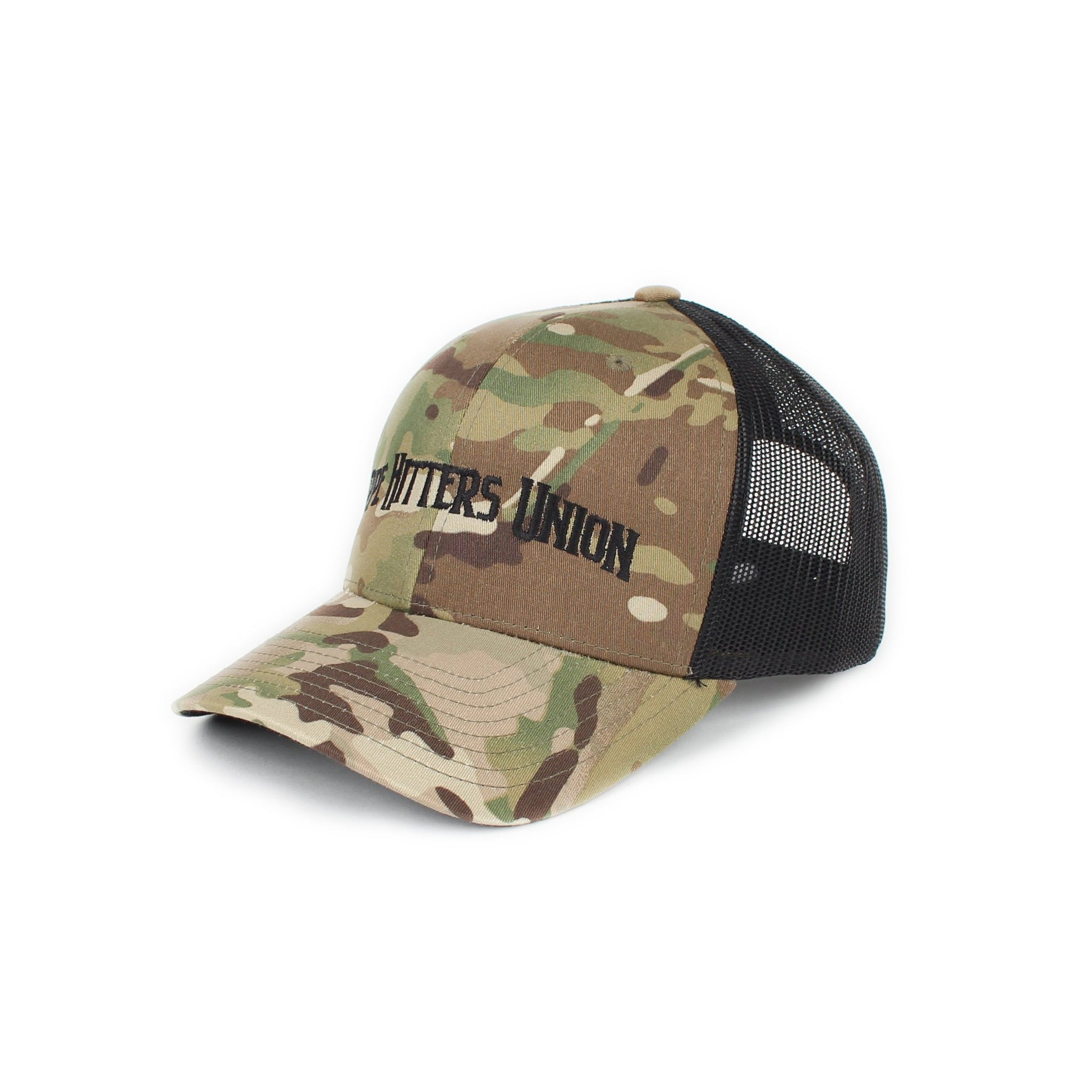 Pipe Hitters Union Trucker - GreenMultiCam/Black - Hats - Pipe Hitters Union