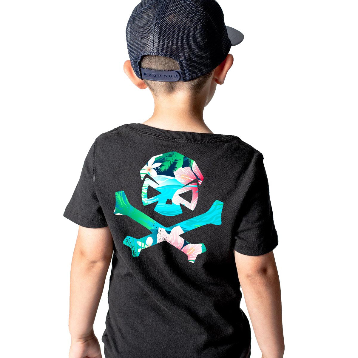 Hitter Five-0 - Youth - Black/Aqua - T-Shirts - Pipe Hitters Union