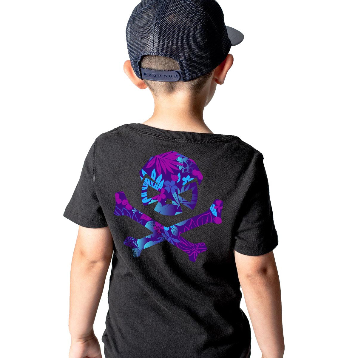 Hitter Five-0 - Youth - Black/Purple - T-Shirts - Pipe Hitters Union