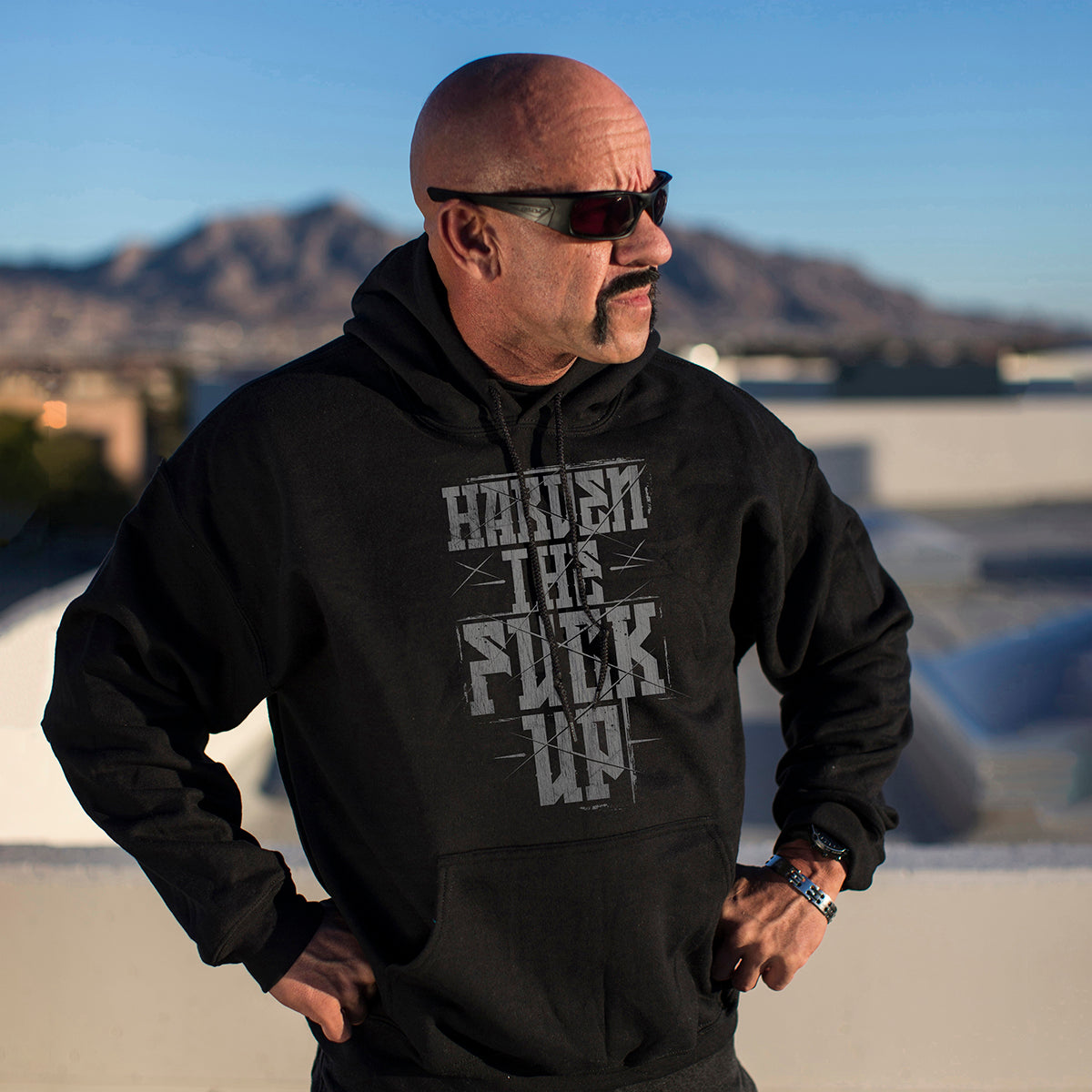 Harden The Fuck Up Hoodie - Small - Hoodies - Pipe Hitters Union