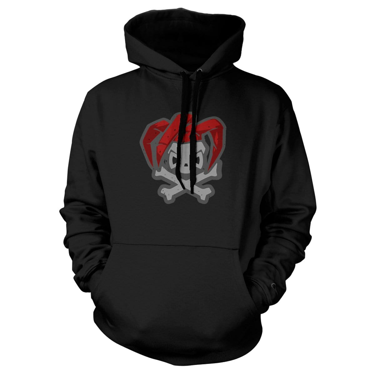 Joker Hoodie - Black - Hoodies - Pipe Hitters Union