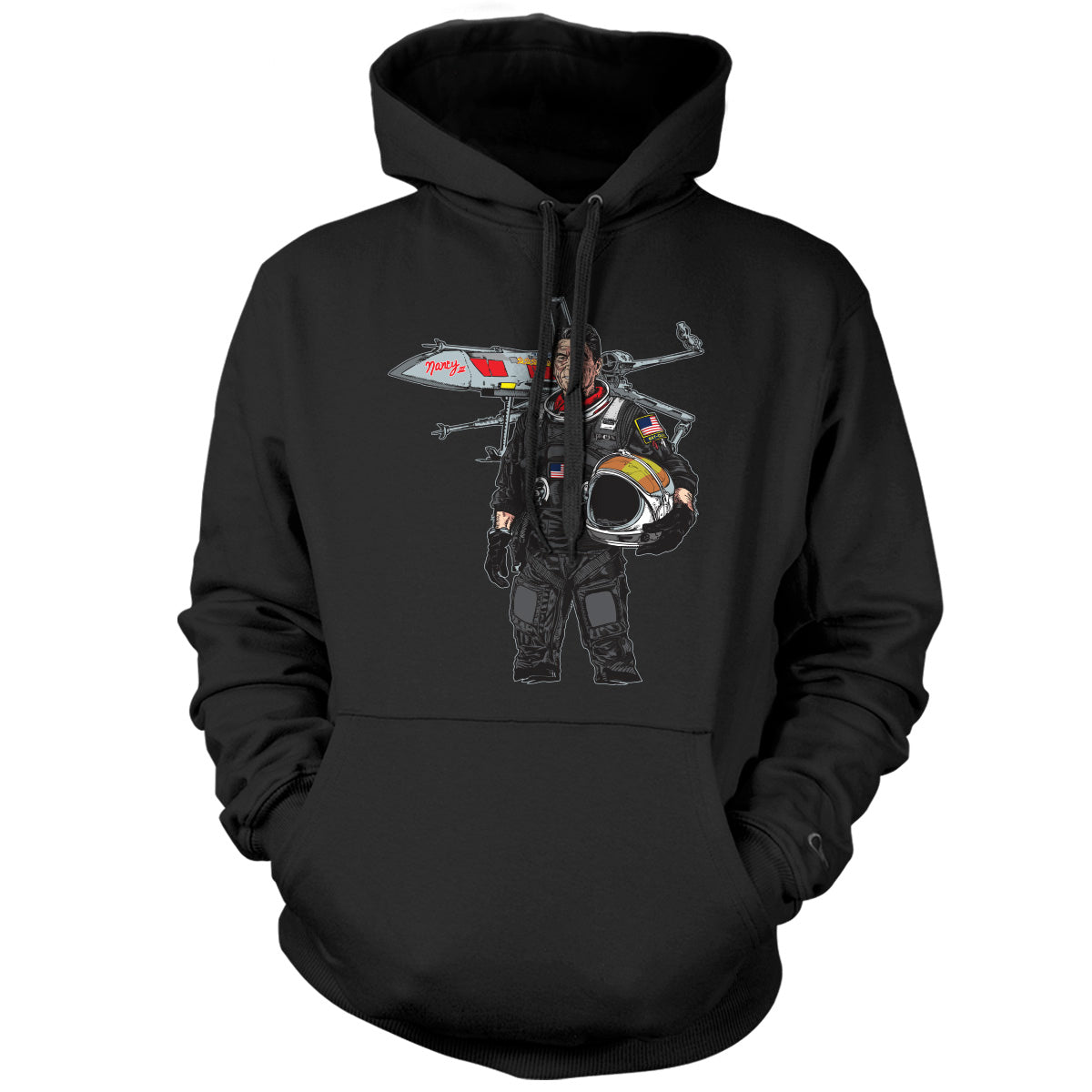 Original Pipe Hitter - Ronnie Hoodie - Black - Hoodies - Pipe Hitters Union